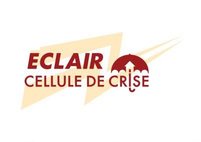 Logo Éclair - Cellule de crise - Richelieu/Yamaska